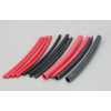 Heat Shrink Tube Red - Black Small Sizes Mixed Bag