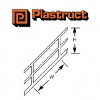 Plastruct Stair Rails SRS12 Single Pack 1/32 Scale 90694