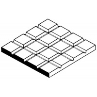 "Evergreen 4506 Square Tile 1/3"" spacing"